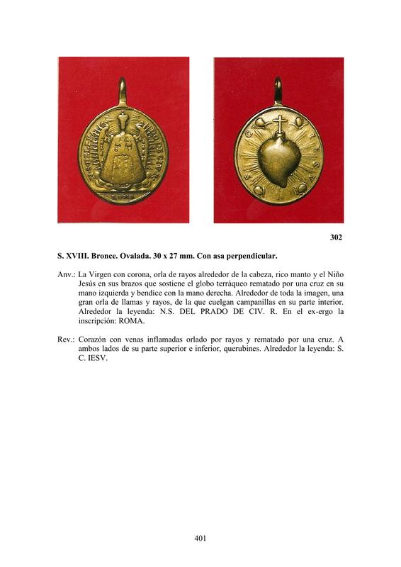 LA MEDALLA DE DEVOCIÓN EN EUROPA ENTRE LOS SIGLOS XVI Y XIX  por  Fernando Sainz Varona - Página 17 40110