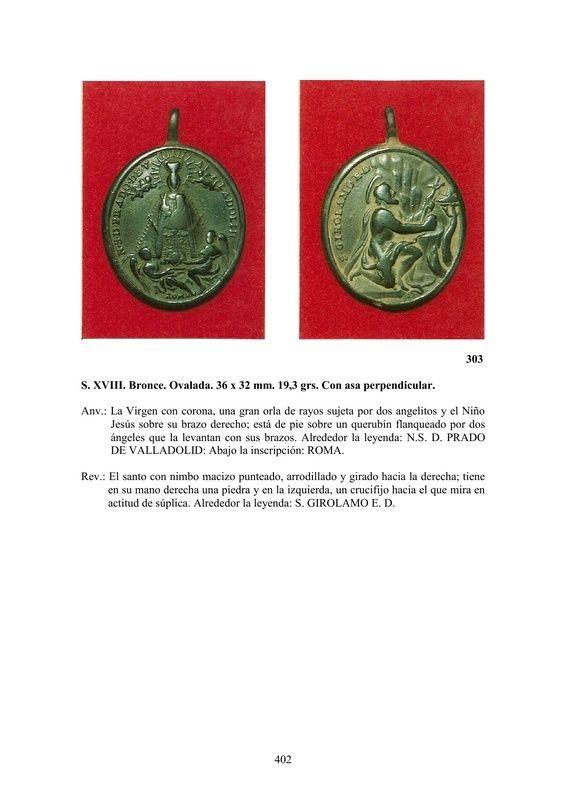 LA MEDALLA DE DEVOCIÓN EN EUROPA ENTRE LOS SIGLOS XVI Y XIX  por  Fernando Sainz Varona - Página 17 40210