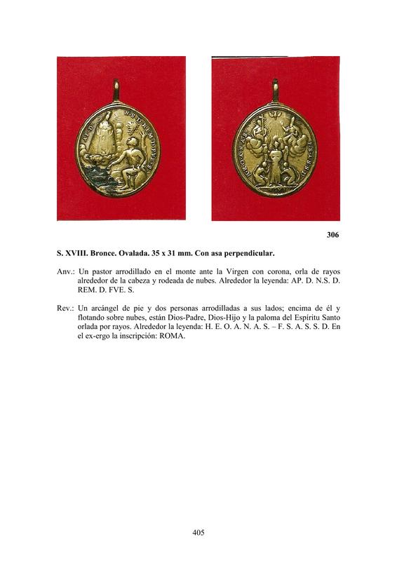 LA MEDALLA DE DEVOCIÓN EN EUROPA ENTRE LOS SIGLOS XVI Y XIX  por  Fernando Sainz Varona - Página 17 40510