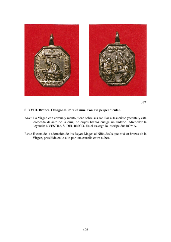 LA MEDALLA DE DEVOCIÓN EN EUROPA ENTRE LOS SIGLOS XVI Y XIX  por  Fernando Sainz Varona - Página 17 40610