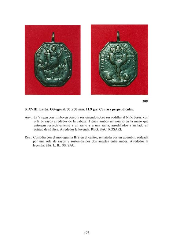 LA MEDALLA DE DEVOCIÓN EN EUROPA ENTRE LOS SIGLOS XVI Y XIX  por  Fernando Sainz Varona - Página 17 40710