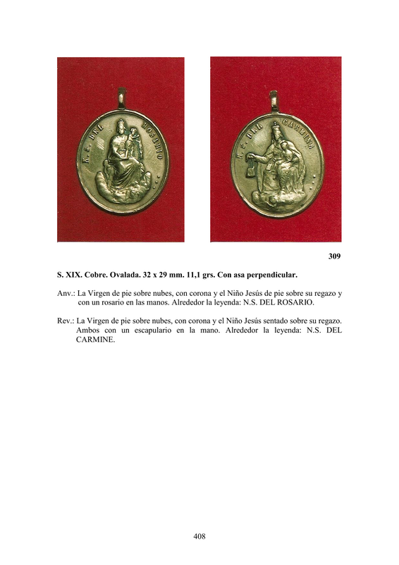 LA MEDALLA DE DEVOCIÓN EN EUROPA ENTRE LOS SIGLOS XVI Y XIX  por  Fernando Sainz Varona - Página 17 40810