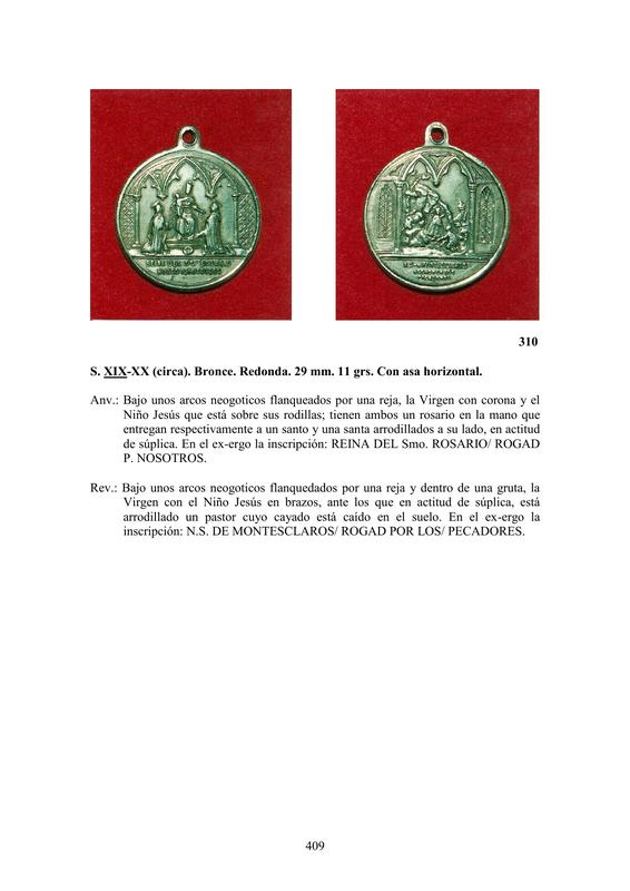 LA MEDALLA DE DEVOCIÓN EN EUROPA ENTRE LOS SIGLOS XVI Y XIX  por  Fernando Sainz Varona - Página 17 40910