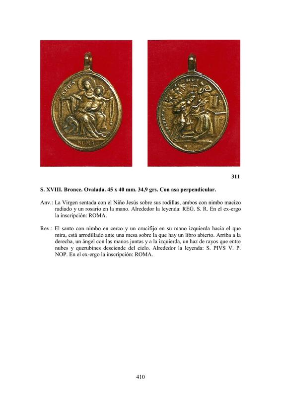 LA MEDALLA DE DEVOCIÓN EN EUROPA ENTRE LOS SIGLOS XVI Y XIX  por  Fernando Sainz Varona - Página 17 41010