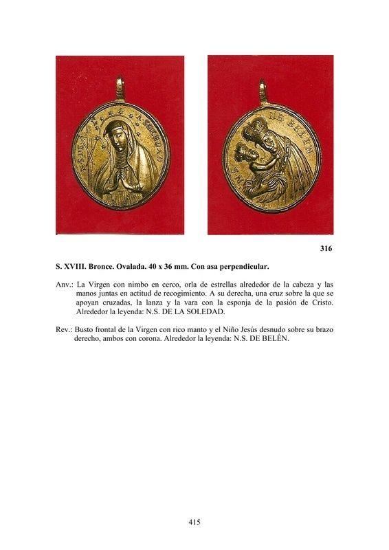 LA MEDALLA DE DEVOCIÓN EN EUROPA ENTRE LOS SIGLOS XVI Y XIX  por  Fernando Sainz Varona - Página 17 41510