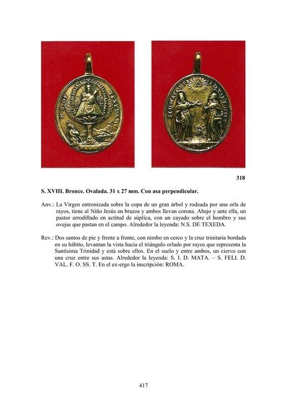 LA MEDALLA DE DEVOCIÓN EN EUROPA ENTRE LOS SIGLOS XVI Y XIX  por  Fernando Sainz Varona - Página 17 41710
