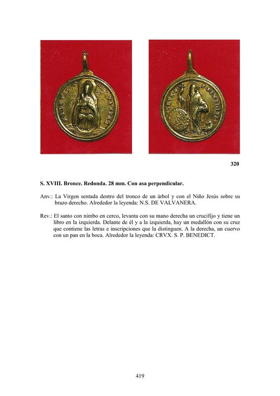 LA MEDALLA DE DEVOCIÓN EN EUROPA ENTRE LOS SIGLOS XVI Y XIX  por  Fernando Sainz Varona - Página 17 41910