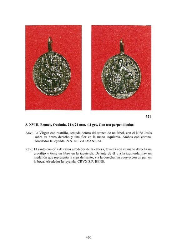 LA MEDALLA DE DEVOCIÓN EN EUROPA ENTRE LOS SIGLOS XVI Y XIX  por  Fernando Sainz Varona - Página 17 42010