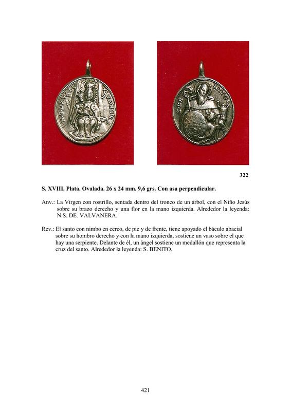 LA MEDALLA DE DEVOCIÓN EN EUROPA ENTRE LOS SIGLOS XVI Y XIX  por  Fernando Sainz Varona - Página 17 42110