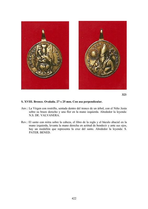 LA MEDALLA DE DEVOCIÓN EN EUROPA ENTRE LOS SIGLOS XVI Y XIX  por  Fernando Sainz Varona - Página 17 42210