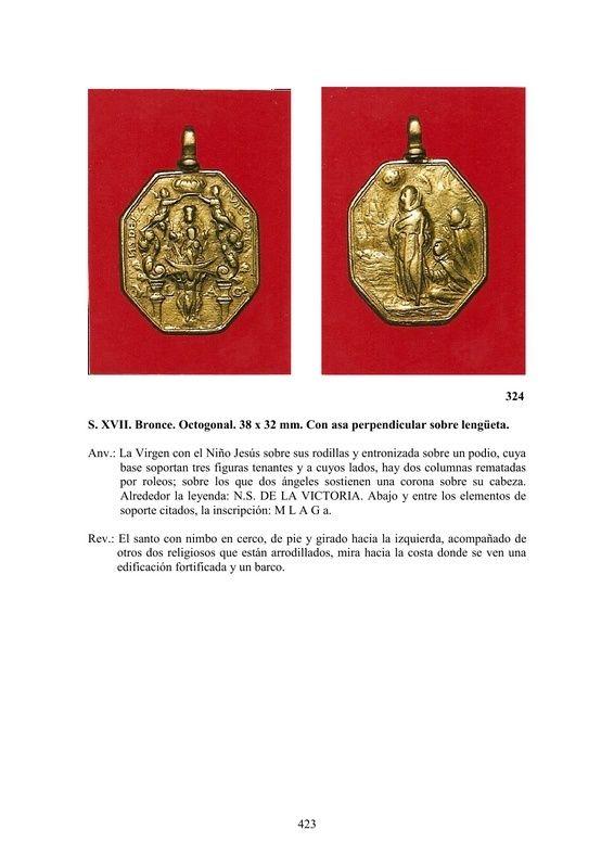 LA MEDALLA DE DEVOCIÓN EN EUROPA ENTRE LOS SIGLOS XVI Y XIX  por  Fernando Sainz Varona - Página 17 42310