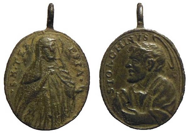 Recopilación medallas Orden Carmelitas Descalzas: Santa Teresa de Jesús Avelin13
