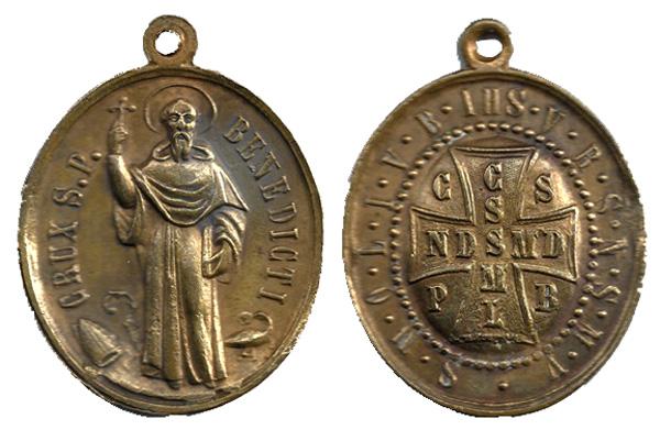 Recopilación de Medallas de San Benito Abad - Página 2 Benito10