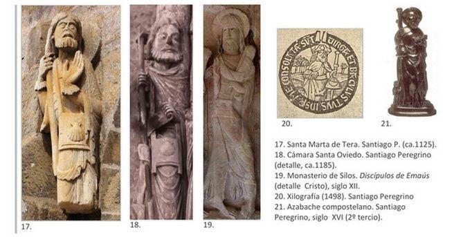 Recopilación medallas Santiago el Mayor. Notas iconográficas Escarc11