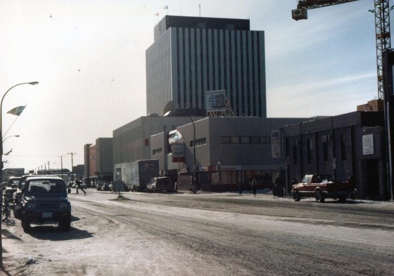 MISSION GRAND FROID AU CANADA 1986 7-yell11