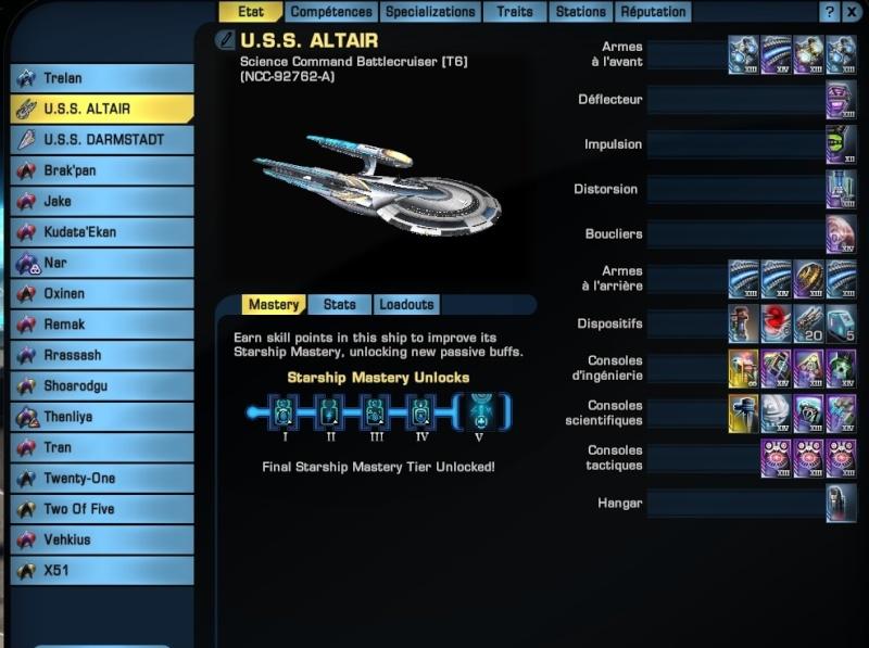 Présentation U.S.S. Altaïr (Science Command Battlecruiser (T6) Global10