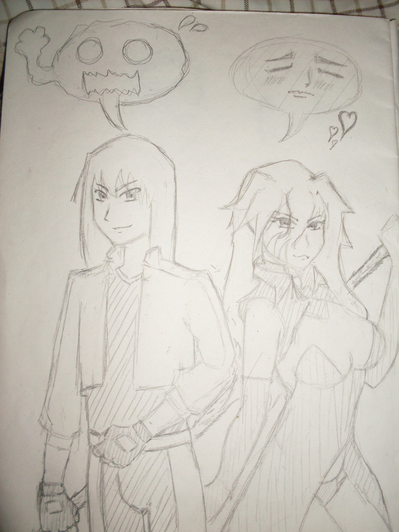 Leon and Vestia, because they are dabes Sdc10013