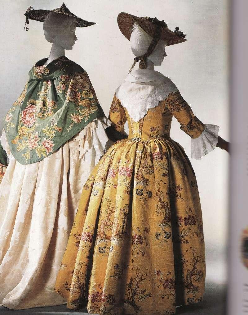 Robes du XVIIIe siècle Robe-c10