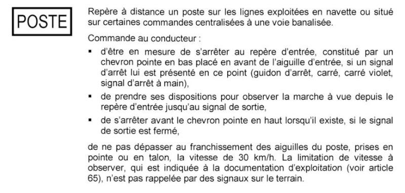Signalisation:la CCVBS Poste11