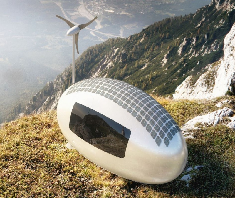 ECOCAPSULE Dwelling with the spirit of freedom Captur39