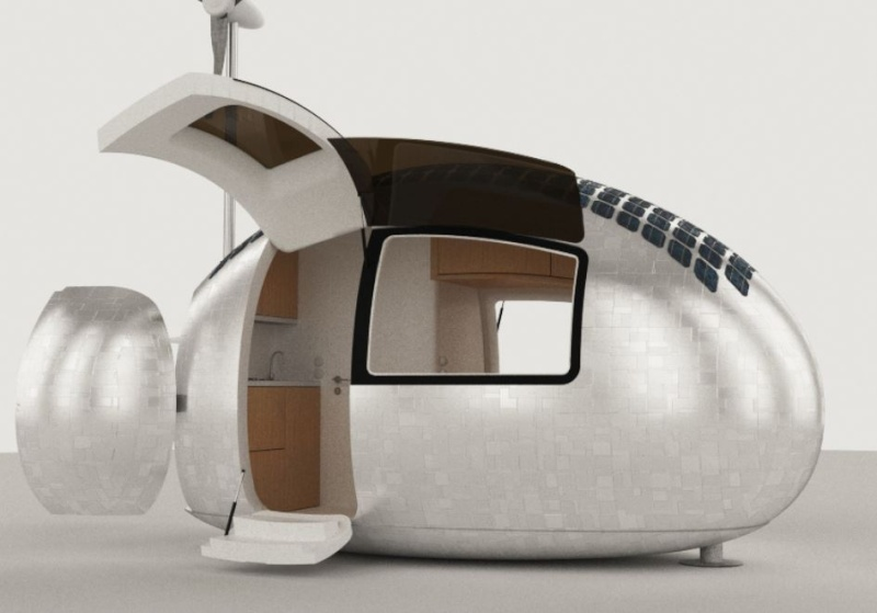 ECOCAPSULE Dwelling with the spirit of freedom Captur40