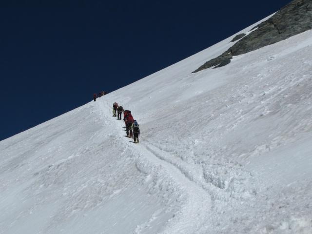 20100807 - ALPES ITALIANOS - BREITHORN ( 4.165 m.) 07ago128
