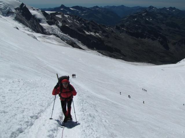 20100807 - ALPES ITALIANOS - BREITHORN ( 4.165 m.) 07ago132