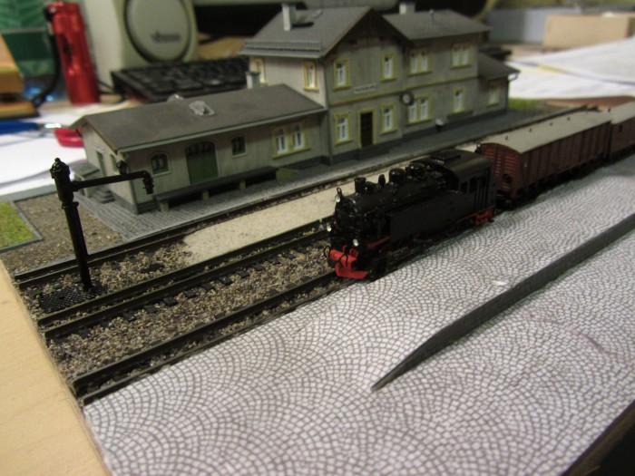 Bahnhofs-Diorama Radeburg 1:160 Forum-13