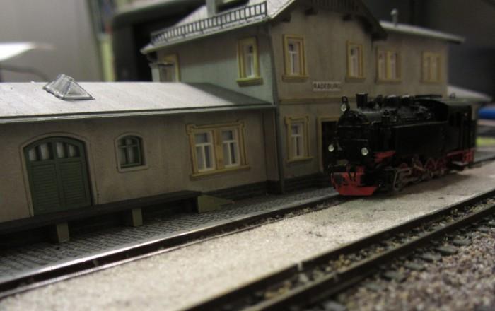 Bahnhofs-Diorama Radeburg 1:160 Forum-16