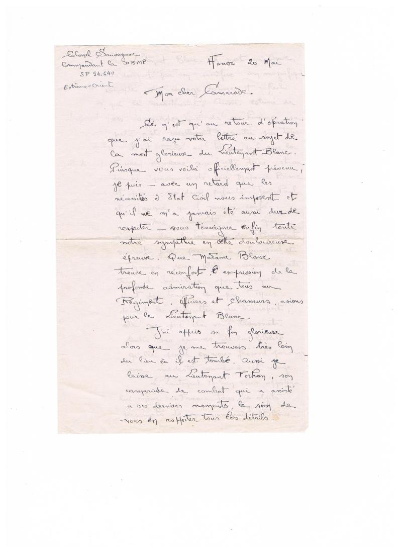 lieutenant paul blanc le 07/04/1948 a caobang 110