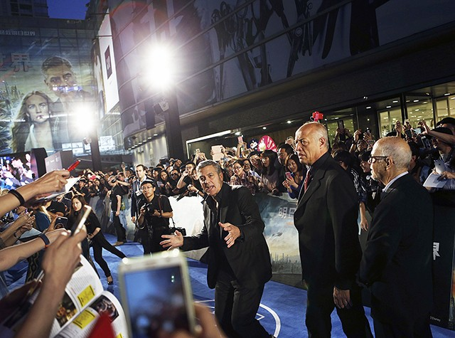 George Clooney in Shanghai Tomorrowland Premier 22. May 2015 Aa10