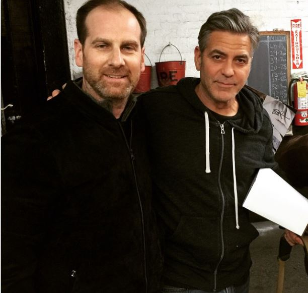 George Clooney  on the set of Money Monster 27th April 2015 Bb11