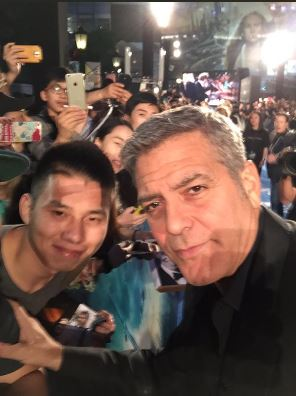 George Clooney in Shanghai Tomorrowland Premier 22. May 2015 Bb12