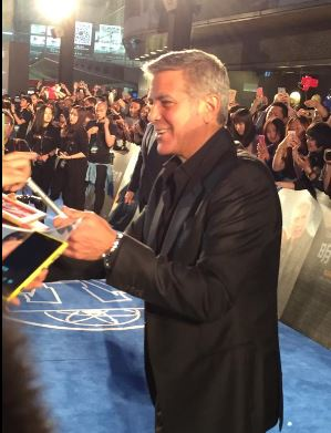 George Clooney in Shanghai Tomorrowland Premier 22. May 2015 Bb212