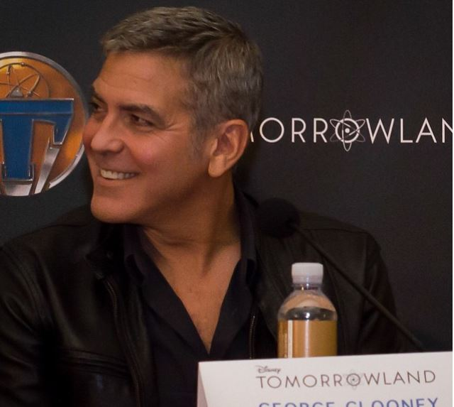 George Clooney at the press conference of TOMORROWLAND 8th May 2015 Ddd410