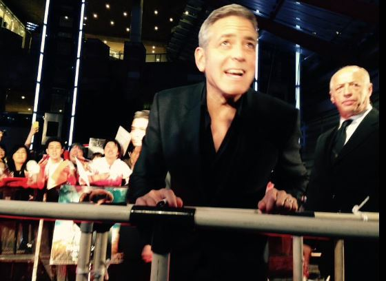 George Clooney at the Tokyo Tomorrowland Premiere 25th May 2015 Ff10