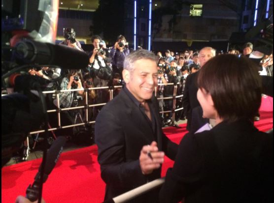 George Clooney at the Tokyo Tomorrowland Premiere 25th May 2015 Ff210