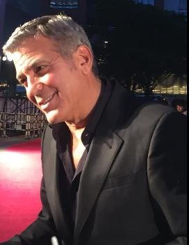 George Clooney at the Tokyo Tomorrowland Premiere 25th May 2015 Ff310