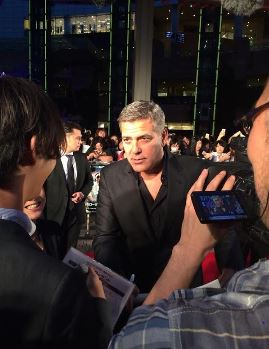 George Clooney at the Tokyo Tomorrowland Premiere 25th May 2015 Ff410