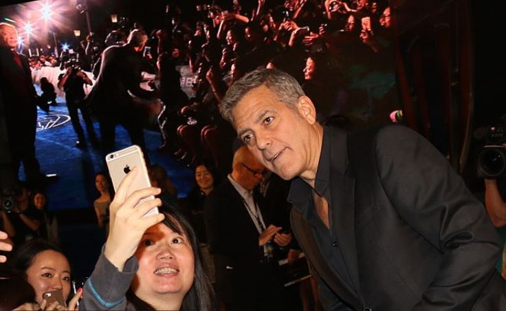 George Clooney in Shanghai Tomorrowland Premier 22. May 2015 Ge10