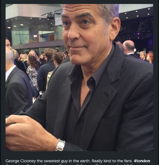 George Clooney at the Tomorrowland Premiere in London 17. May 2015 Gg12