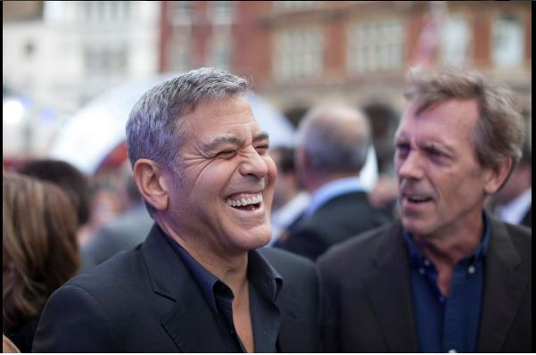 George Clooney at the Tomorrowland Premiere in London 17. May 2015 Gg210