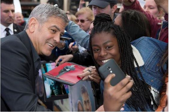 George Clooney at the Tomorrowland Premiere in London 17. May 2015 Gg410