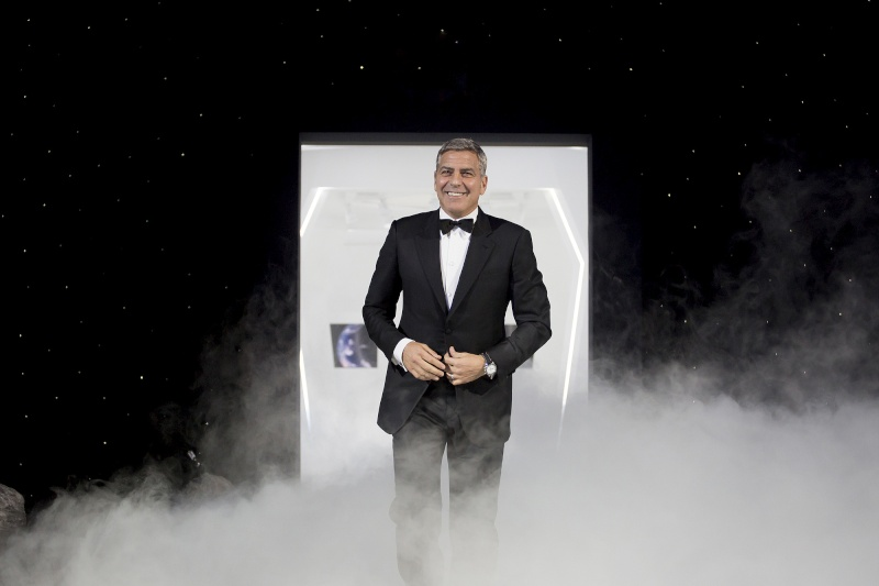 George Clooney  at Omega Event in Texas Grgr10