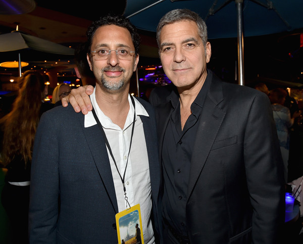 George Clooney at the TOMORROWLAND world premiere in LA Disneyland 9th May 2015 Hhh10