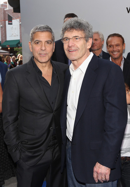 George Clooney at the TOMORROWLAND world premiere in LA Disneyland 9th May 2015 Hhh410