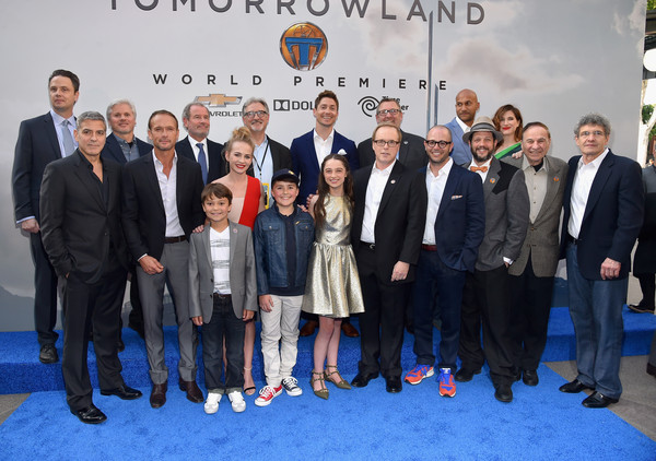 George Clooney at the TOMORROWLAND world premiere in LA Disneyland 9th May 2015 Hhh510