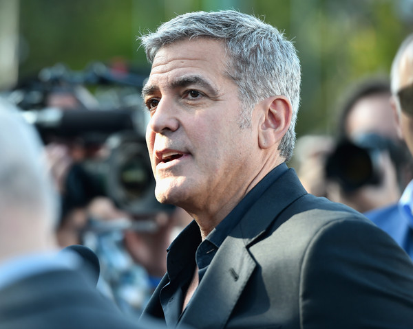 George Clooney at the TOMORROWLAND world premiere in LA Disneyland 9th May 2015 Hhh710