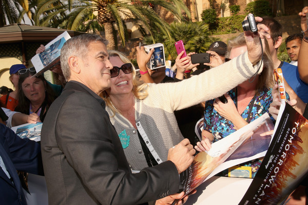 George Clooney at the TOMORROWLAND world premiere in LA Disneyland 9th May 2015 Hhh810