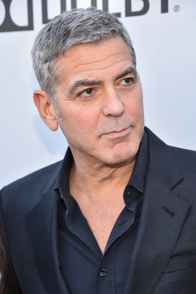 George Clooney at the TOMORROWLAND world premiere in LA Disneyland 9th May 2015 Hhh910